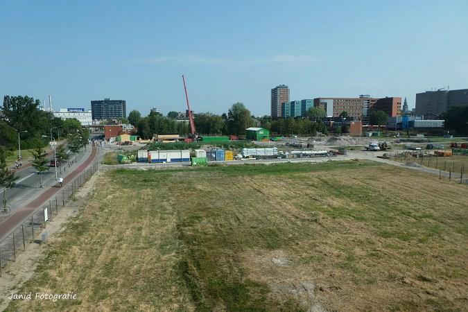 27 juli 2018 Het maken van de mallen voor de spoorbrug